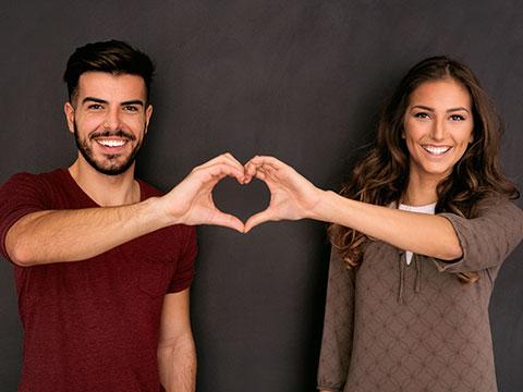 Online-persönliche Dating-Seiten